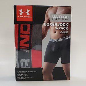 Under Armour UA Tech BoxerJock 2 Pack Boxer Briefs
